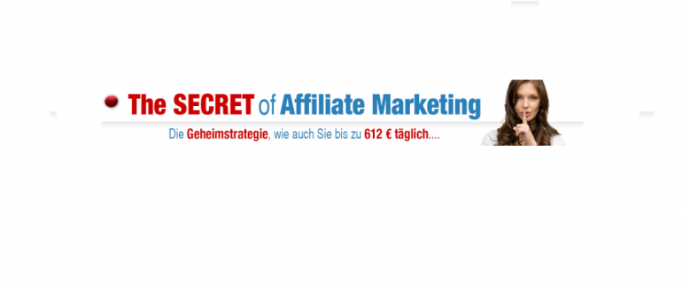 Online Webinar: The Secret of Affiliate Marketing!